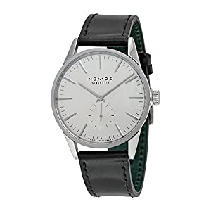 Nomos Zurich White Dial Stainless Steel Mens Watch 801