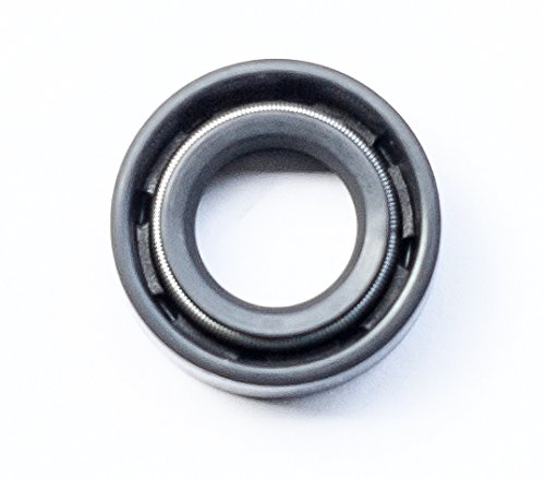 Oil Seal 12X22X7 Oil Seal Grease Seal TC |EAI Double Lip w//Garter Spring 0.472x0.866x0.276 12mmX22mmX7mm Single Metal Case w//Nitrile Rubber Coating