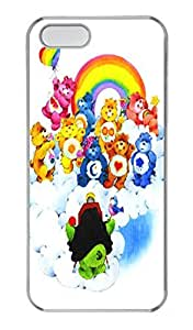 Carebears Animal PC Case Cover for iPhone 5 and iPhone 5S Transparent