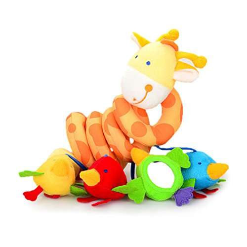 Amazon.com : Yeahibaby Baby Hanging Toys Puppet Handbells Baby Car Crib Stroller Toys Giraffe : Baby