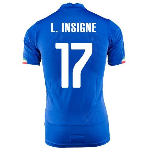 準備したストローキーPUMA L. INSIGNE #17 ITALY HOME JERSEY WORLD CUP 2014/サッカーユニフォーム イタリア代表 レプリカ?ホーム用 ワールドカップ2014 背番号17 ロレンツォ?インシーニェ
