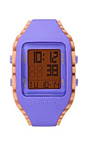 Reebok RF-WZ1-G9-PUPU-CB Reloj Análogo para Hombre, Color Naranja/Morado
