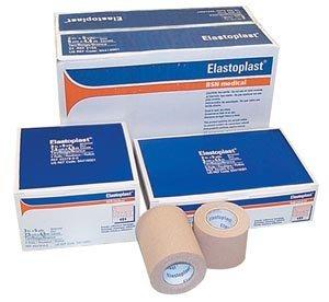 BSN Medical/Jobst 04410001 Tensoplast Elastic Adhesive Bandage, 1'' Width, 5 yd. Length, Tan (Pack of 32)