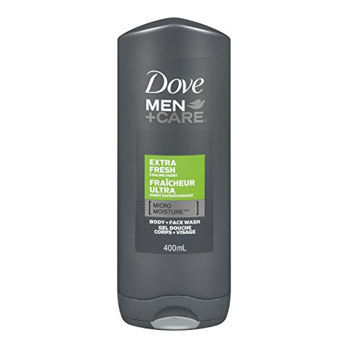 Dove Men+Care Extra Fresh Micro Moisture Body + Facewash 400ml