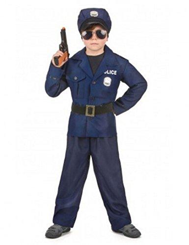 Disfraz de policía de lujo para niño: Amazon.es: Juguetes y juegos