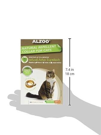 Pet Supplies : Aveeva 420016 Alzoo Cat Collar, NA : Pet Flea And Tick Collars : Amazon.com