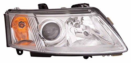(For 2003 2004 2005 2006 2007 Saab 9-3 Sedan/Coupe Headlight Headlamp Passenger Right Side Replacement SB2503109)