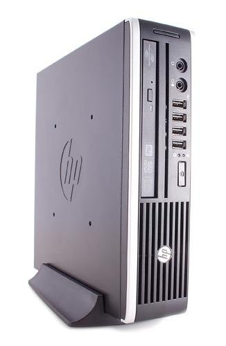 PC 8000 ULTRA SMALL USDT INTEL Core2Duo E8500 @ 3, 16 GHz - RAM 4 GB DDR3 - HDD 250 GB SATA - INTEL HD - WIN7 PRO 64 BIT (Ricondizionato Certificato) hp