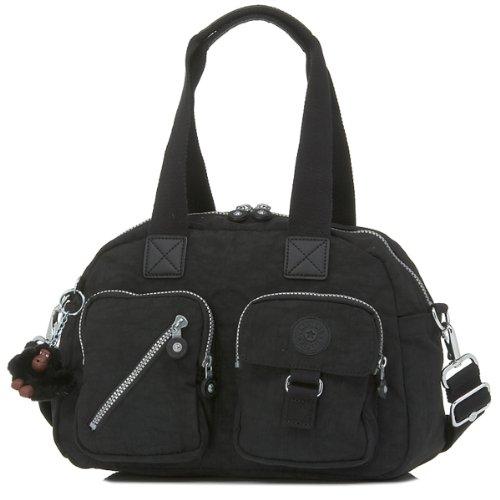 Kipling Luggage Defea Handbag with Shoulder Strap, Black, One Size
