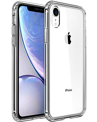 Compatible with iPhone XR Case,Clear Anti-Scratch Shock Absorption Cover Case for iPhone XR Clear (Black Lip New)