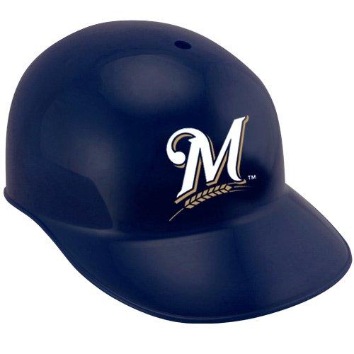 Rawlings Milwaukee Brewers Navy Blue Replica Batting Helmet ()