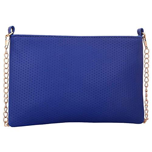 tascabile donna a Dot Lapis multifunzionale Design Blu per Lupo tracolla O Borsa qUgwaf
