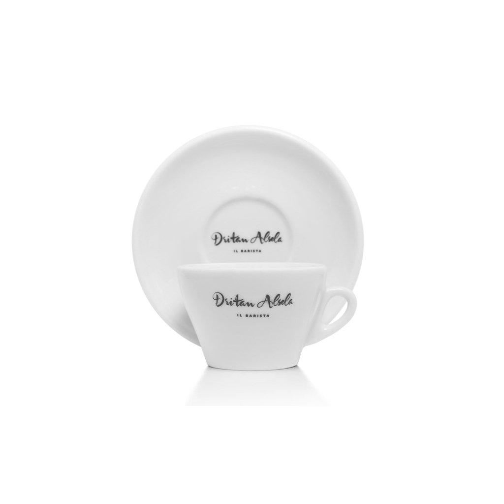 Dritan Alsela Cappuccino / Flat White Cup (6 Cups & Saucers) Ancap