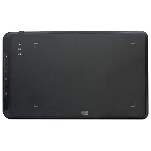 ADESSO 8X5INCHES Wireless & USB Wired Widescreen Graphic Tab