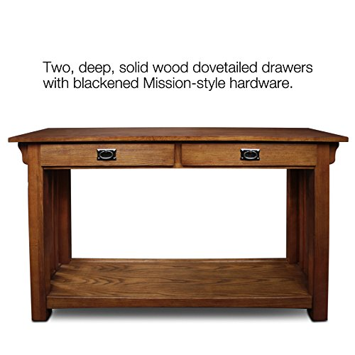 Leick Furniture Mission Sofa Table, Medium Oak for sale  Delivered anywhere in USA