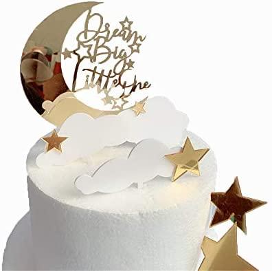 DeMissir - Decoración para tarta de cumpleaños, acrílico ...