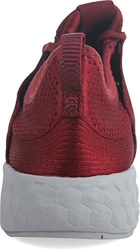 New Balance Men Fresh Foam Cruz Hoody Pack Running Shoes Red zJQr5KGeF