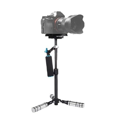 YILF Estabilizador de Mano, fotografía trípode Micro Sola cámara ...
