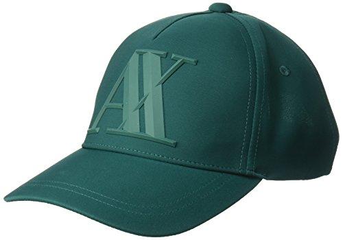 - Armani Exchange Men's A|X Logo Hat, Botanical Garden, TU