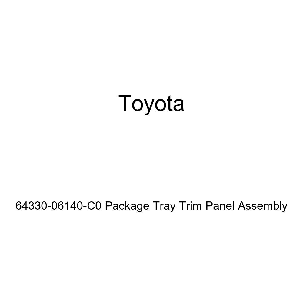 TOYOTA Genuine 64330-06140-C0 Package Tray Trim Panel Assembly