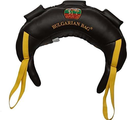 Bulgarian Bag - Genuine Leather - Suples - The Original Bulgarian Bag Creator (Fitness, Crossfit, Wrestling, Judo, Grappling, Functional Training, MMA, Sandbag, Training Bag, Weighted Bag, Weight Bag)