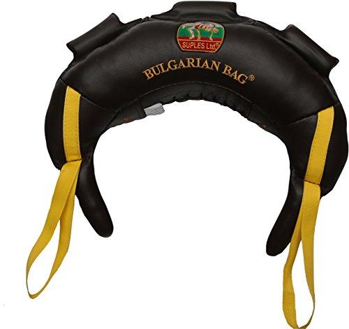 Bulgarian Bag Suples Original Model - Genuine Leather (6 lbs) - Free Instructional DVD Included! Fitness, Crossfit, Wrestling, Judo, Grappling, Functional Training, MMA, Sandbag