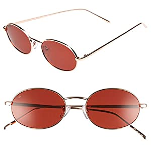 "PRIVÉ REVAUX Madelaine Collection ""Candy"" Handcrafted Designer Sunglasses (Red)"