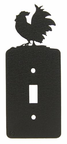 Poultry Chicken Rooster Single Light Switch Plate Cover