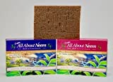 organ soap company - Neem Bar Soap- Neem Oil, Neem Leaf & Neem Bark - Activated Charcoal - Body Guard Plus