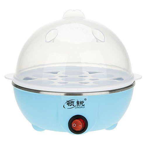 UNAKIM--Clear 7 Eggs Boiler Steamer Electric