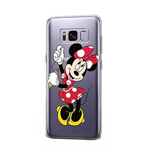 GSPSTORE Galaxy S8 Case Disney Cartoon Mickey Minnie Mouse Soft Transparent TPU Protection Cover For Samsung Galaxy S8 #18