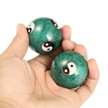Exercise Baoding Balls - Meditation Baoding Balls - Chinesse Health Exercise Stress Relief Handball (Small Baoding Balls) by Unknown