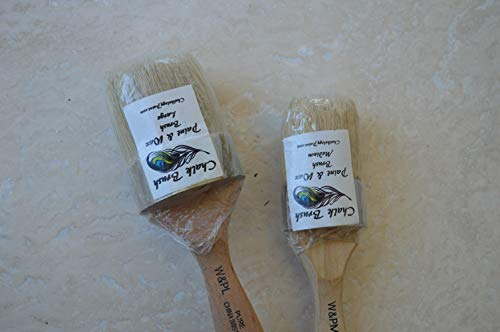 Chalkology  Oval Paint and Wax Brush Large