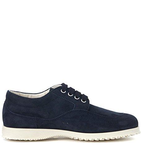 Blu Camoscio Sneaker Blu In Da Donna Hogan Tradizionale 1wq0CTw