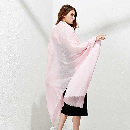 JULY SHEEP Pure 100% lamb wool Ultra Thin Scarf Womens Soft Long Scarves Shawl Wraps by JULY SHEEP (Image #2)