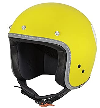 606421M04Y CASCO VESPA COLOR YELLOW L