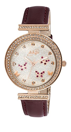 Italian Wrist Watch for Women by Didofa: 3D Original Fashion Watch with A Unique Bedazzled Design and 3D Pattern, Water Resistant and Durable, Beautiful and Premium Quality Gift Packaging by Didofà