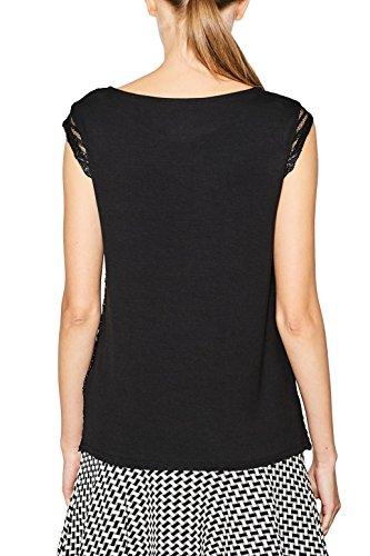 ESPRIT Collection, Camiseta sin Mangas para Mujer Negro (Black 001)