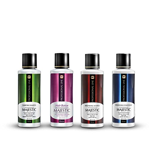 Price comparison product image Majestic Hair Botox 125ml (4oz) - Formaldehyde Free - Complete Kit