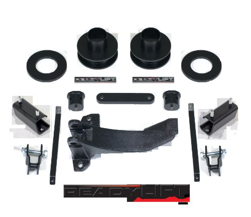 "Readylift 66-5055 2.25"" Leveling Kit for Tacoma/Prerunner 2WD/4WD, Tires Up to 33"", Silver"