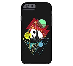 Adventurous Panda iPhone 5s Black Tough Phone Case - Design By FSKcase?