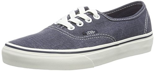 Dark Washed Washed Authentic Unisex Vans Blue Sneakers U Blu TZqn07w