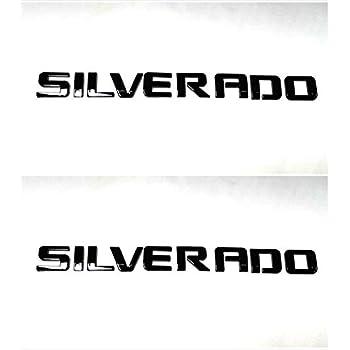 2 NEW 11-18 GMC SIERRA DENALI 2500HD 3500HD DOOR BADGES EMBLEMS PAIR SET