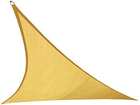 Coolaroo 474003 Coolhaven Triangle Shade sail Sahara