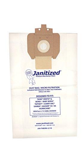 Janitized JAN-TABORA-2(10) Premium Replacement Commercial Vacuum