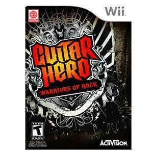 New Guitar Hero: Warriors of Rock (Nintendo Wii) Music & Rhythm