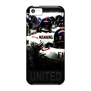 PamelaSmith Iphone 5c Great Cell-phone Hard Cover Customized Realistic New York Giants Pattern [eWZ12237GFMr]