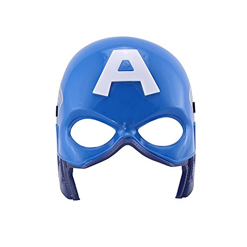 Children's Spiderman Masks LED Glowing Ironman Captain America