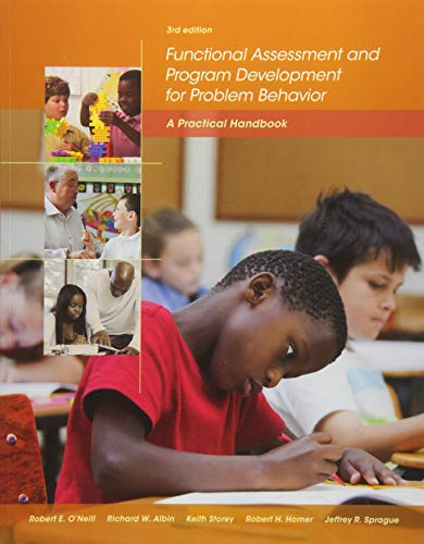 Pdf Teaching Functional Assessment and Program Development for Problem Behavior: A Practical Handbook