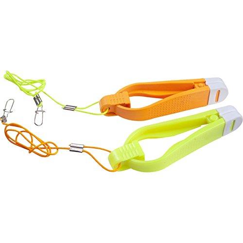 disponible en S o L contiene 2/Release Clips Fladen Downrigger Release Clip la bl/íster 1/x en amarillo y 1/x en naranja